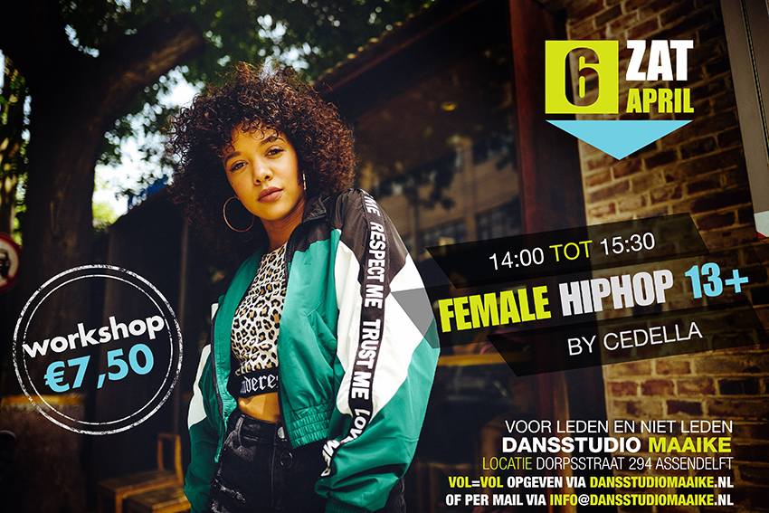 poster workshop female hiphop mail